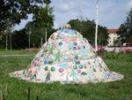 """Keramikinstallation im Nordpark """"Kleine Freizeit"""" Fürstenwalde"""