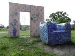 """Keramikinstalation im Nordpark """"Kleine Freizeit"""" Fürstenwalde"""