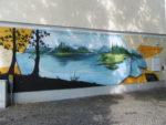 Streetart in der Wriezener Straße in Fürstenwalde